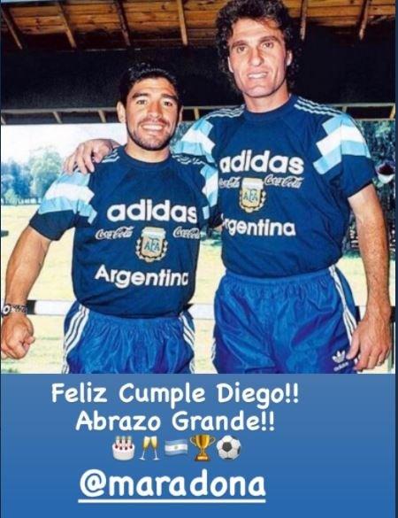 Feliz cumple, Maradona! Las reacciones al 60 cumpleaños del Diego, en vivo  - AS Argentina