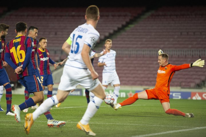 barcelona 2 1 dynamo kyiv champions league results summary and goals as com dynamo kyiv champions league results