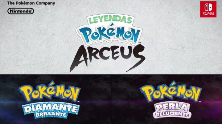 Leyendas Pokémon Arceus Diamante Brillante Perla Reluciente