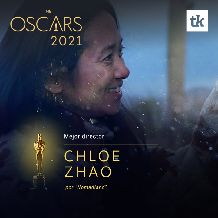 Mejor Director - Chloé Zhao