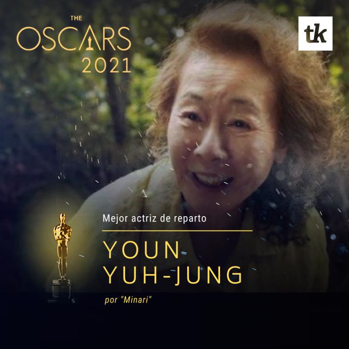 Mejor actriz de Reparto - Yuh-Jung Youn