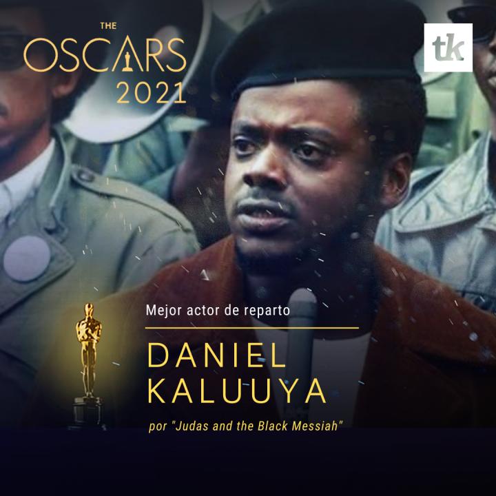 Mejor Actor de Reparto - Daniel Kaluuya